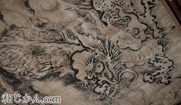 龍の天井絵