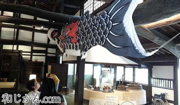 町屋の鯉のぼり